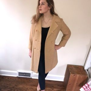 Jackets & Blazers - Vintage Caramel-colored coat